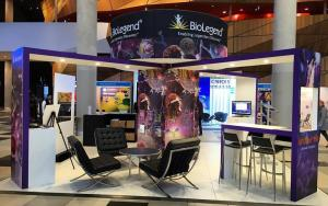 BioLegend 6m x 6m Exhibit at ICI 2016 in Melbourne, Australia