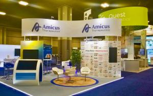 Amicus 20 x 20 Exhibit at ACMG 2018 in Charlotte, North Carolina