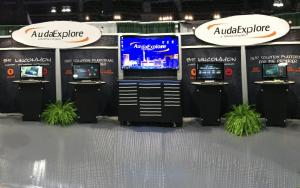 AudaExplore 10 x 30 Exhibit at SEMA 2014 in Las Vegas, Nevada