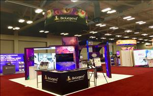 BioLegend 20 x 20 Exhibit at AAI 2018 in Austin, Texas