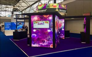 BioLegend 6m x 6m Exhibit at ECI 2018 in Amsterdam, The Netherlands
