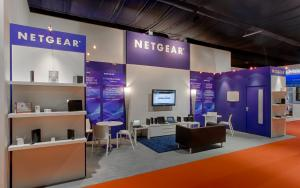 NETGEAR 3m x 6m Exhibit at IBC 2012 In Amsterdam, The Netherlands
