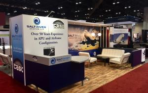 Salt River Aviation 10 x 20 Exhibit at MRO Americas 2017 in Orlando, Florida