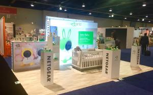 NETGEAR 10 x 20 Exhibit at ABC Kids Expo 2017 in Las Vegas, Nevada