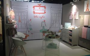Calisson 3m x 3.5m Exhibit at Maison&Objet 2016 in Paris, France