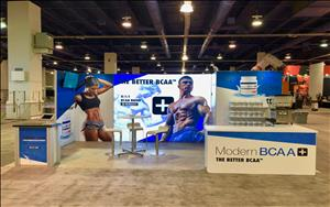 Modern Sports Nutrition 10x20 Exhibit at Olympia 2019 in Las Vegas, Nevada
