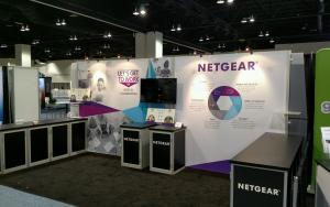 NETGEAR 10 x 20 Exhibit at ISTE 2016 in Denver, Colorado