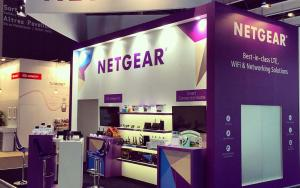 NETGEAR 6m x 6m Exhibit at MWC 2015 in Barcelona, Spain