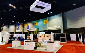 NuSight Medical 20 x 20 Exhibit at AAO 2018 in Chicago, Illinois