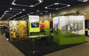 Optimum Sorting 20 x 20 Exhibit at NWFBW 2018 in Portland, Oregon