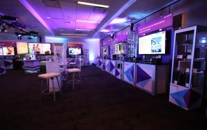 NETGEAR 40 x 40 Product Demo Showroom at CES 2015 in Las Vegas, Nevada