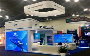 SiteMinder 20 x 20 Exhibit at HITEC 2018 in Houston, Texas