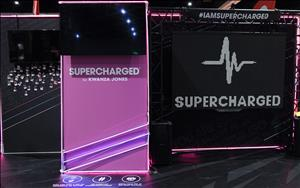 Supercharged 10 x 20 Exhibit at IDEA WORLD 2018 in San Diego, California