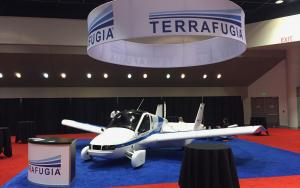 Terrafugia 30 x 30 Exhibit at IDTechEx 2017 in Santa Clara, California