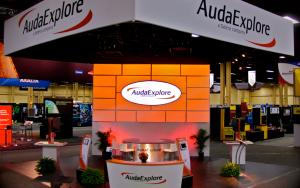 AudaExplore 30 x 30 Exhibit at NACE 2013 in Las Vegas, Nevada