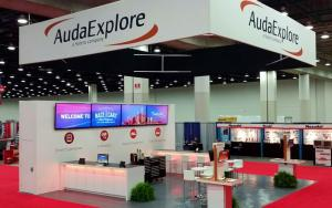 AudaExplore 30 x 30 Exhibit at NACE 2015 in Detroit, Michigan