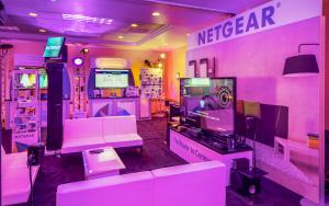NETGEAR 40 x 40 Product Showroom at CES 2014 in Las Vegas, Nevada